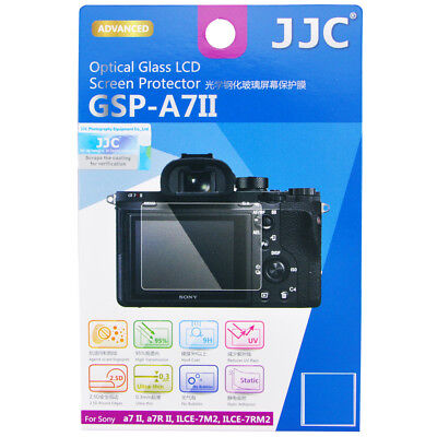 JJC Optical Glass LCD Screen Protector for SONY α9,a7S II,a7R II,A7II, a7R III