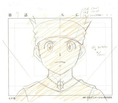 Anime Genga not Cel Hunter X Hunter #98