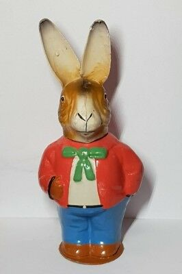 Alter Candy Container Osterhase Pappmache Ostern