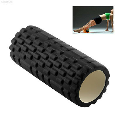 F3BD EVA Yoga Pilates Fitness Roller Yoga Massage Grid Trigger Point Exercise Bl