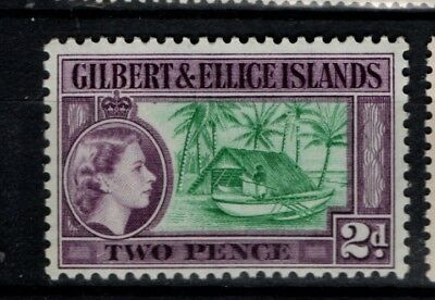Gilbert and Ellice Islands 1964 1965 QEII Definitive 2d WMK 12 SG 87 Mint MH