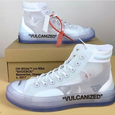 "Converse All Star Chuck Taylor X Off White ""vulcanized"""