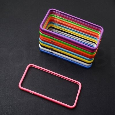 NEW Color Frame Hard Rubber TPU Bumper Case Cover For Apple iPhone X XS 7 8 Plus