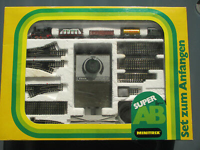 Minitrix 1040 Super AB  Starter Set  Startset in Spur N