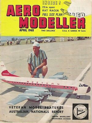 "Aero Modeller Magazine. Volume XXX, No. 351, April, 1965. ""Bleriot Monoplane""."