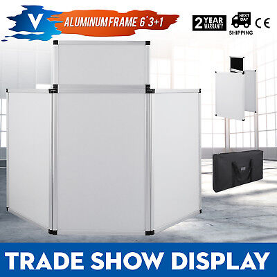 5.9 X 3FT Trade Show Display Presentation 3+ 1 Header Aluminum Alloy Frame