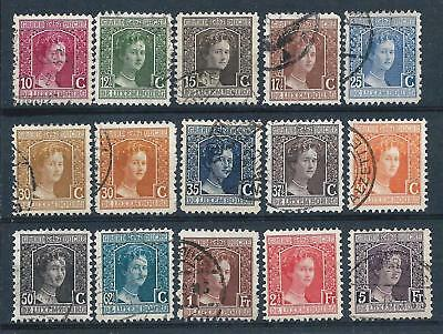 Luxembourg 1914-21 Selection of Marie Adelaide to 5f MH & Used CV £77-small thin