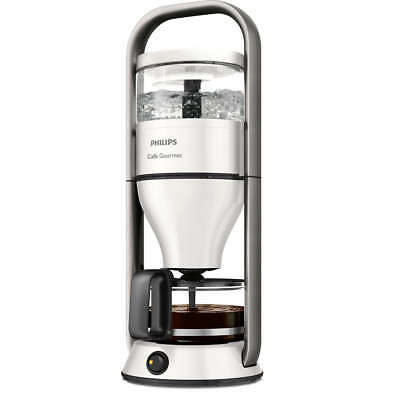 PHILIPS Café Gourmet HD5408/10 Cafetière Boil&Brew Verseuse Goût optimal blanc