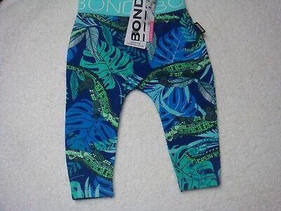 Bonds Baby Stretchie Leggings Airlie Croc Bnwt Size 000