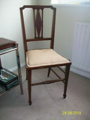 Pretty Edwardian Chair