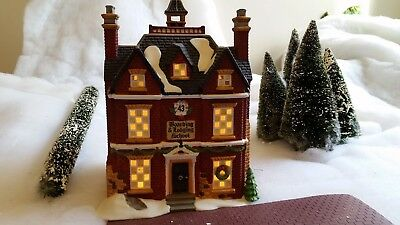 Dept 56, Boarding and Lodging School, rare, first ed., #58106