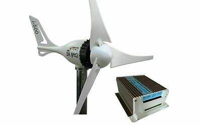 SET 12V i-500 Plus, Wind Generator + Charge Controller White Edition