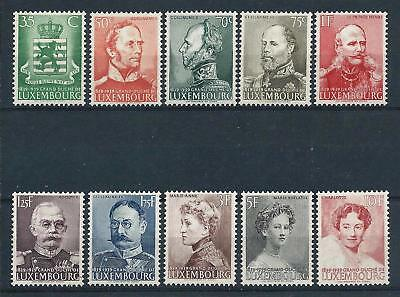 Luxembourg 1939 Centenary of Independence set Mint Hinged