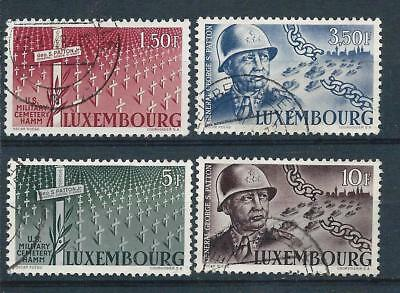 Luxembourg 1947 General Patton set Used CV £70