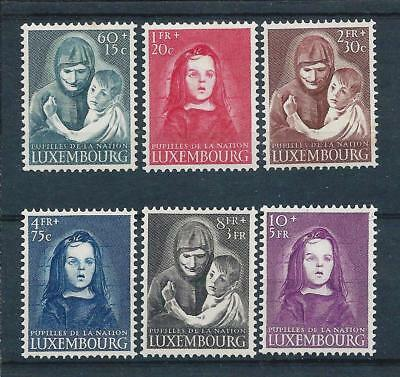 Luxembourg 1950 War Orphans Relief Fund set Mint Hinged CV £150
