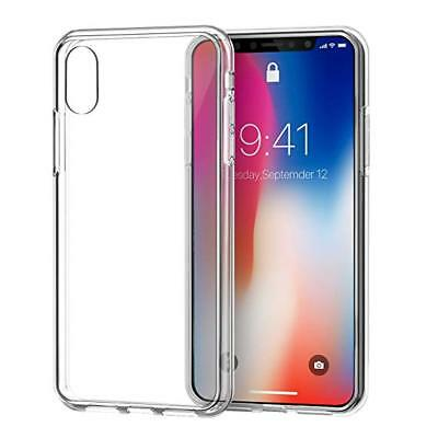 iPhone XS Max XR X Case Ultra Thin Clear Transparent Shockproof Hard TPU Cover
