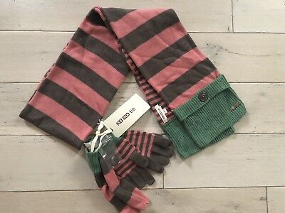 Kenzo Scarf and Gloves