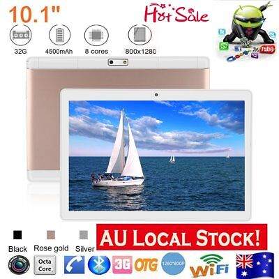 "10.1"" Tablet PC Android 7 Octa Core Tablet Unlocked Dual SIM, GPS FM OTG 2G+32G"