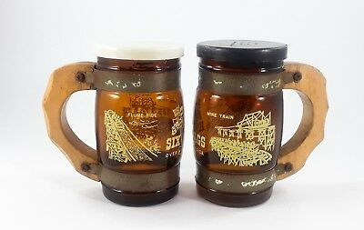 Salt and Pepper Shaker Six Flags Over Mid America  Vintage