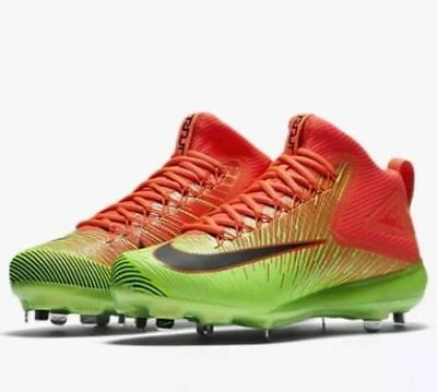 70c46bffd3a8 Nike Zoom Trout 3 Size 11 Mens Metal Luminescent Baseball Cleats 844627-803