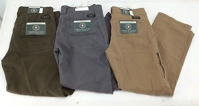 G.H. Bass & Co. - Mens Stretch Canvas Rugged Terrain Work Pant - 3 Colors - NEW