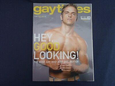 """Two """"Gay Times"""" Magazines From 2005/6 Perfect Condition"""