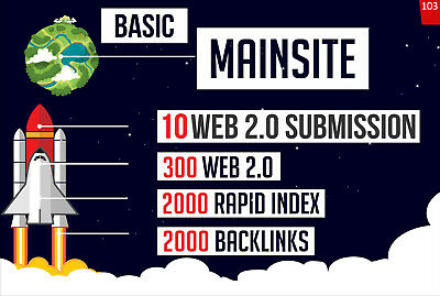 Rank your website SEO Backlinks Boost Increase Page Rank + Delivery Report