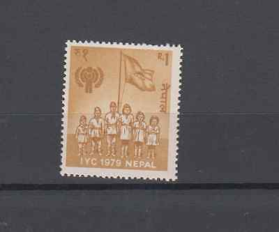 Nepal 1979 Year Of The Child Set Mint Never Hinged
