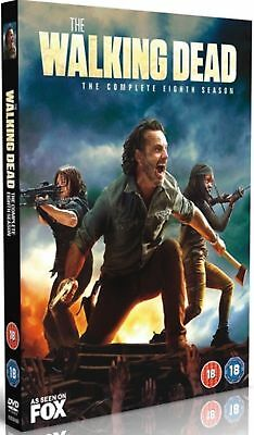 The Walking Dead Season 8 DVD Brand New Sealed & Fast Postage ( 6 disc )