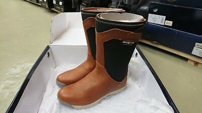 Henri Lloyd Shadow Sailing Boot Brown Y92038 - Multiple sizes available!