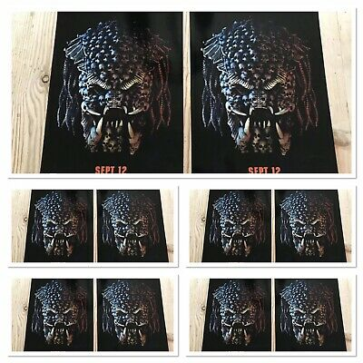 10XPredator ODEON A4 Sized Glossy Posters-Comic Con International 2018 JOB LOT