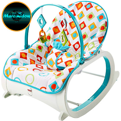 Fisher-Price Infant-to-Toddler Rocker, Geo Diamonds, baby Bouncers, baby chair
