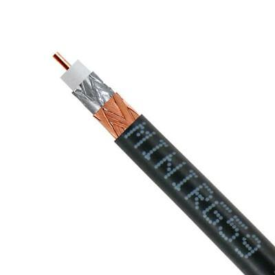 Mini RG59 Black 200m Roll For CCTV - Video Cable