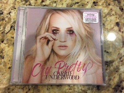 Carrie Underwood CD 2018 Cry Pretty Physical Sealed Album NEW
