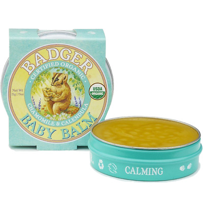 Badger Baby Balm 21g Organic Soothing & Protection For Your Baby's Soft Skin