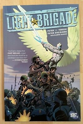 Light Brigade, Graphic Novel by Tomasi and Snejbjerg