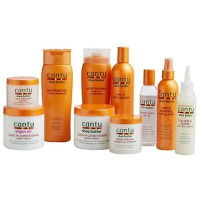 CANTU SHEA BUTTER & NATURAL HAIR CARE AFRO *FULL RANGE*All Products*Best Price**