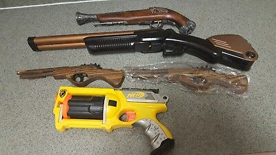 Steampunk Accessories Toy Guns Props Nerf Gothic Victorian Cosplay Customize