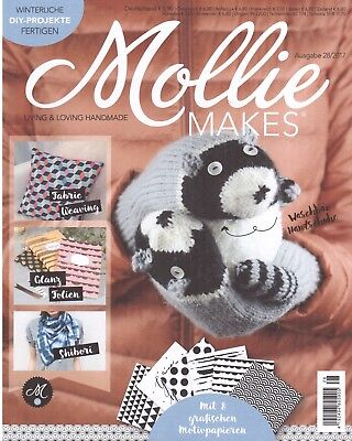 MOLLIE Makes Heft 28/2017 Zeitschrift DIY-Magazin Fabric Weaving HANDMADE