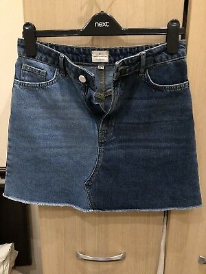 French Connection FCUK Denim Skirt Size 10