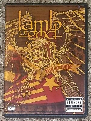 Lamb of God Killadelphia DVD 2005 Sony Music Free Shipping