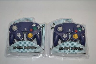 Controller für GameCube Purple 2er Set