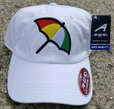 cab816ee2d5741 ARNOLD PALMER BAY Hill White Umbrella Hat Brand New Free Shipping ...