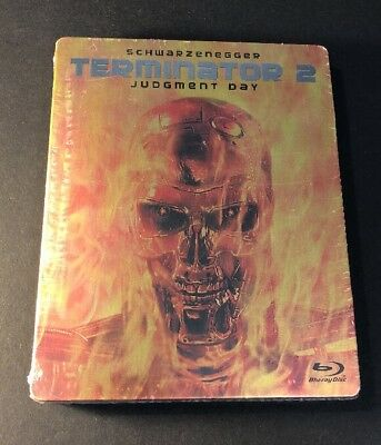 Terminator 2 Judgment Day [ Limited STEELBOOK Edition ] (Blu-ray Disc) NEW