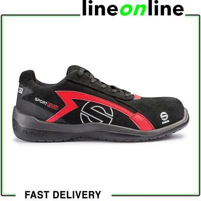 00569b756e7 SPARCO SPORT EVO black non-metal breathable S3 safety trainer shoe ...
