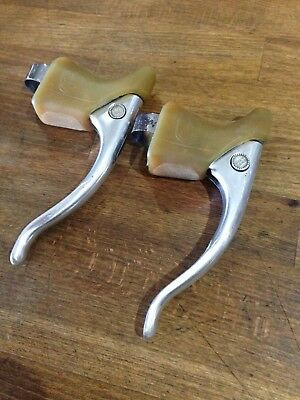 Campagnolo Record Brake Levers Vintage With New Hoods