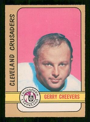 Gerry Cheevers  1972-73 O-Pee-Chee Wha No 340 Exmint+ 24093