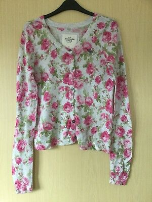 Abercrombie And Fitch Size M Women's Floral Cardigan Size 12-14