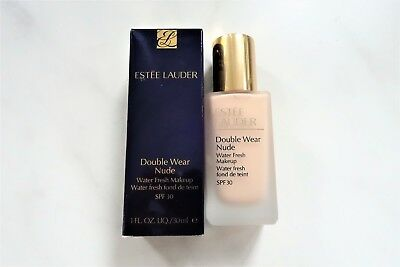 ESTEE LAUDER DOUBLE WEAR NUDE WATER FRESH MAKEUP 2N1 Desert Beige