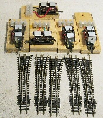 5 N Scale Peco Points Switches 5 Motors......Scroll Down